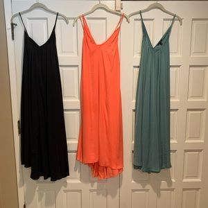 3 Banana Republic trapeze dresses